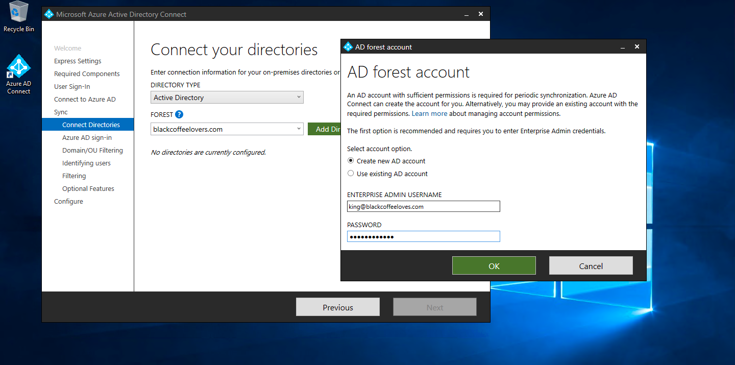 Azure ADConnect Tool Installation – ( In-Details